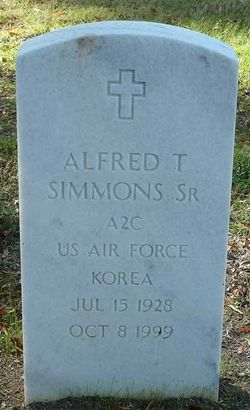 Alfred T Simmons, Sr