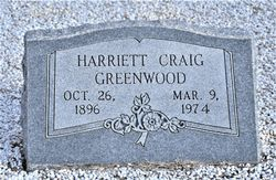 Harriet Lois <I>Gracey</I> Greenwood