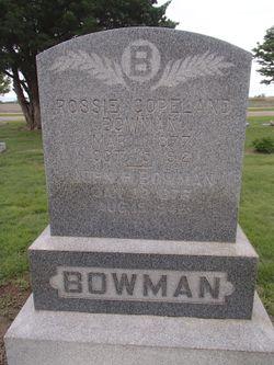 Rosie Copeland Bowman