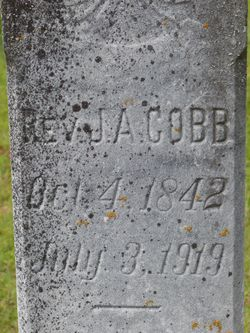 Rev John A Cobb