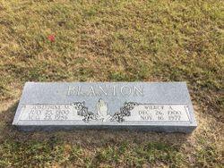 Wilbur Alexander Blanton