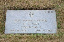 Paul Warren Haynes