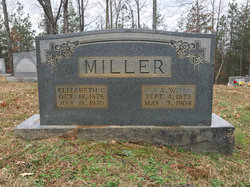 """Elizabeth Catherine """"Lizzie"""" <I>Weber</I> Miller"""