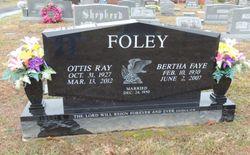Bertha Faye <I>Grider</I> Foley