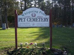 Whispering Pines Pet Cemetery