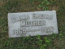 Emma <I>Abraham</I> Brown