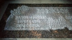 Linnie May <I>Fisher</I> Robinson