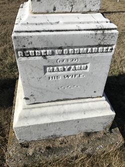 Mary Ann <I>Noble</I> Woodmansee