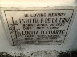 Estelita P De La Cruz