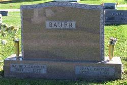 Maude Marie <I>Alexander</I> Bauer