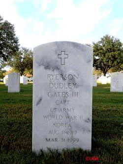 Ryerson Dudley Gates, III