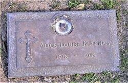 Alice Louise <I>Mahar</I> Ketcham