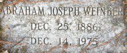 Abraham Joseph Weinberg