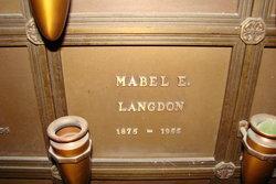 Mabel Emily <I>Hibbard</I> Langdon