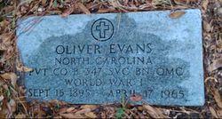 Oliver Evans