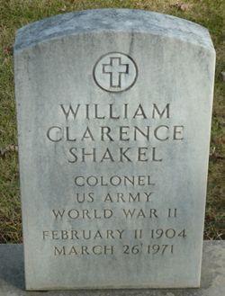 William C Shakel
