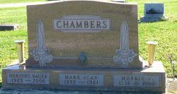 """Morris Eugene """"Morris"""" Chambers"""