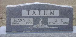"""Mary Frances """"Fannie"""" <I>Nolen</I> Tatum"""