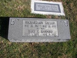 Mary E <I>Hamwood</I> Taylor