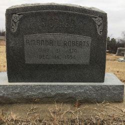 "Amanda Lois ""Manda"" <I>Kirkwood</I> Roberts"