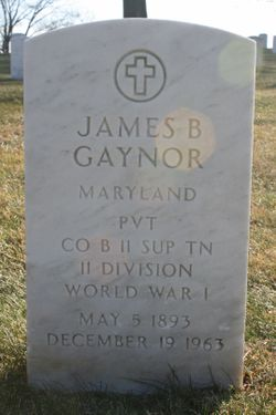 PVT James Benedict Gaynor