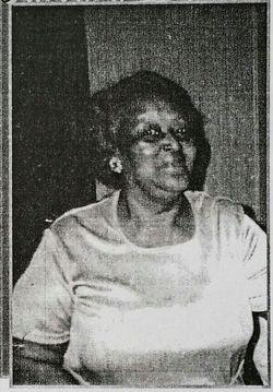 """Barbara Delores """"Mama Lois"""" <I>Cazenave</I> Acker"""