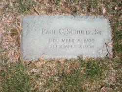 Paul G. Schultz Sr.