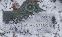 Minnie M <I>Paris</I> Anderson