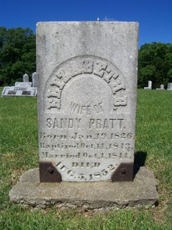 Elizabeth B. <I>Hudson</I> Pratt