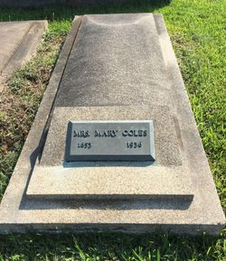 Mary K. <I>Sawyer</I> Coles