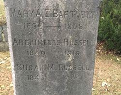 Mary A. E. Bartlett