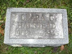 Clara Gertrude <I>Moore</I> Halstead