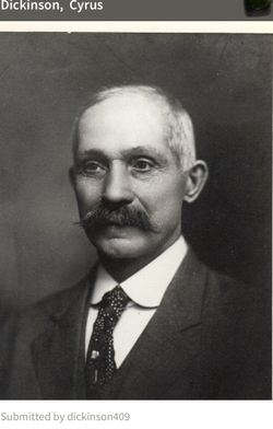 Cyrus Whitney Hodges Dickinson