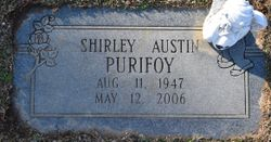 Shirley <I>Austin</I> Purifoy