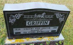 """Vincent Pius """"Hank"""" Griffin"""