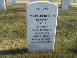 Marguerite <I>Hargrove</I> Benner