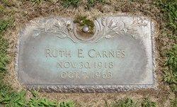 Ruth E Carnes