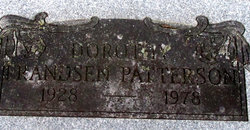 "Dorothea Duus ""Dorothy"" <I>Frandsen</I> Patterson"