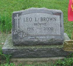 """Leo L """"Brownie"""" Brown"""