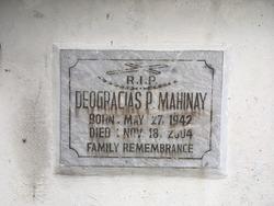 Deogracias P Mahinay
