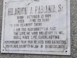 Hilarion A. Pabiana, Sr.