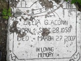 Delia G Aconin