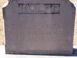 John W Wolfe