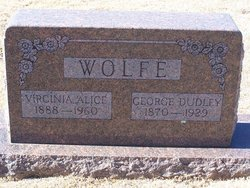 George Dudley Wolfe