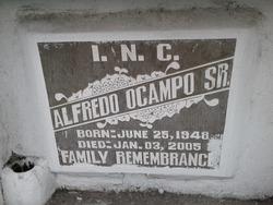 Alfredo Ocampo, Sr.