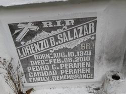 Lorenzo B Salazar, Sr.