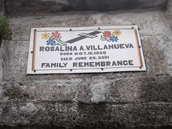 Rosalina A Villanueva