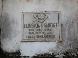 Florencia S Sanchez