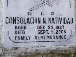Consolacion N. Natividad