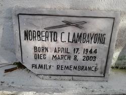 Norberto C. Lambayong
